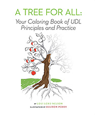 A Tree for All: Your Coloring Book of UDL Principles and Practice cover